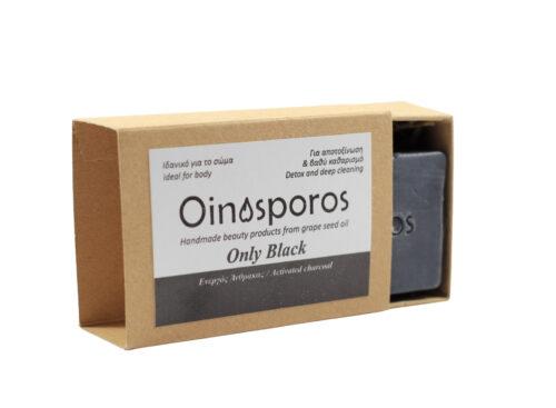Oinosporos Only Black Soap